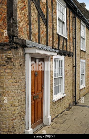Brick Timber Frame Homes : Exterior house brick and timber stock photos