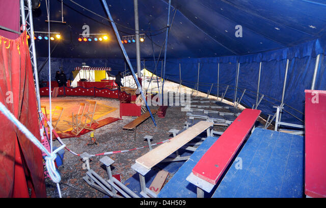 Officials of the State Investigation Bureaux (LKA) are pictured inside a circus tent on & Inside A Circus Tent Stock Photos u0026 Inside A Circus Tent Stock ...