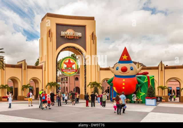 Universal Studios Orlando Christmas Stock Photos & Universal ...