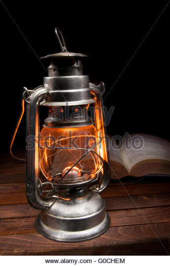 Burning Paraffin Oil Lamp Stock Photos & Burning Paraffin Oil Lamp ...