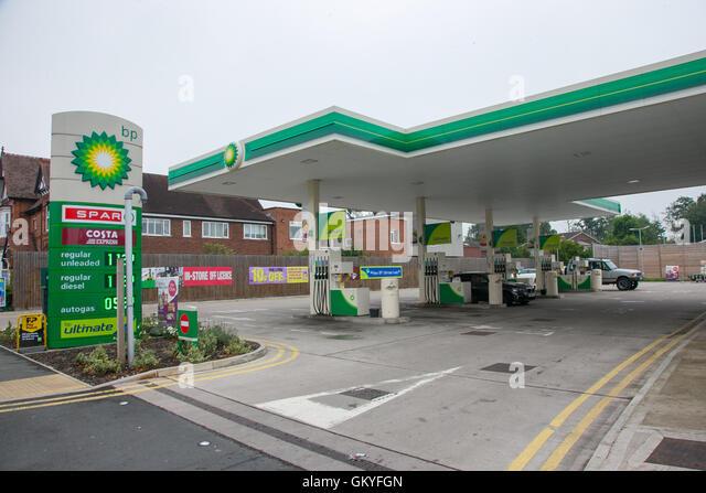 Petrol station shop uk stock photos petrol station shop uk stock images alamy - Esso garage opening times ...