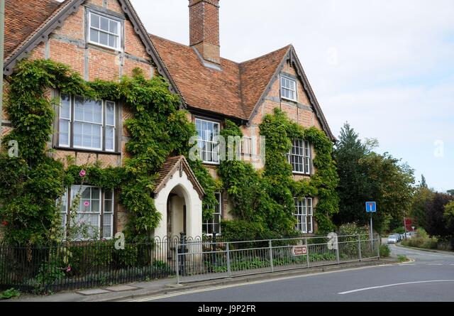 Striblehills, Thame, Oxfordshire.Facing the High Street at the junction of Priestend and Oxford road, - Stock Image