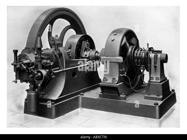Dynamo machine stock photos dynamo machine stock images for Who invented the electric motor in 1873