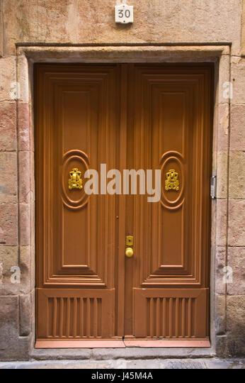 Apartment Building Front Door front door apartment building gothic stock photos & front door