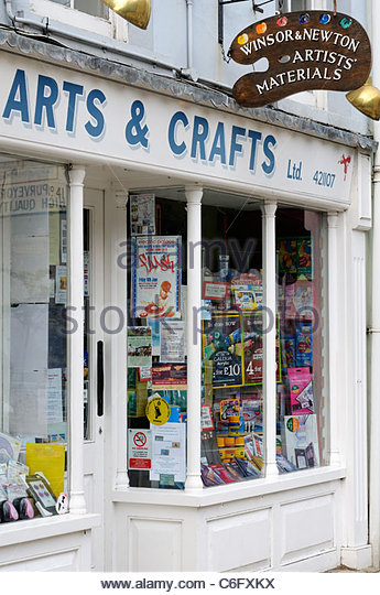 Arts and crafts shops stock photos arts and crafts shops for Michaels arts and crafts san diego