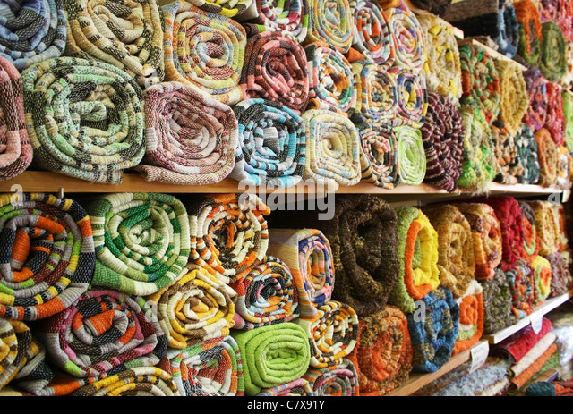 Typical Handmade Rugs   Stock Image