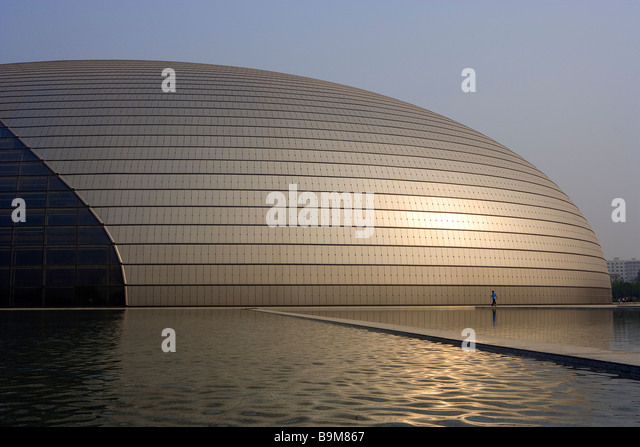 Paul andreu stock photos paul andreu stock images alamy for Beijing opera house architect