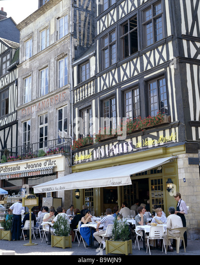 haute normandie cafe stock photos haute normandie cafe stock images alamy