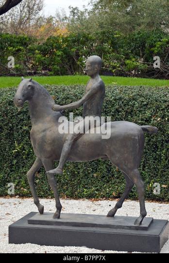 Marino marini stock photos marino marini stock images - Lillie and hugh roy cullen sculpture garden ...