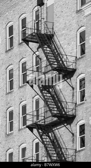 Fire Escape Apartment Building Stock Photos Amp Fire Escape