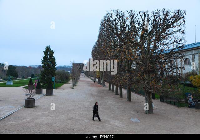 Paris 5th arrondissement jardin stock photos paris 5th for Restaurant jardin des plantes paris