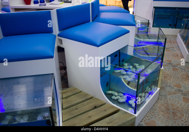 Fish pedicure stock photos fish pedicure stock images for Fish spa near me