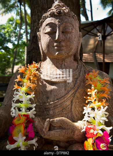 Stone buddha stock photos images alamy