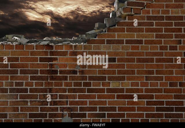 Crumbling Brick Wall Images Galleries With A Bite