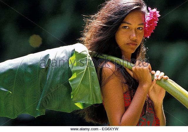 polynesia woman
