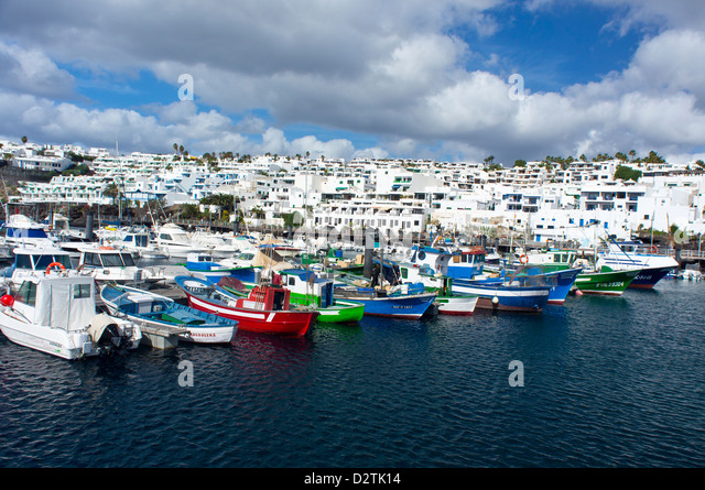 Puerto del carmen stock photos puerto del carmen stock images alamy - Port del carmen lanzarote ...