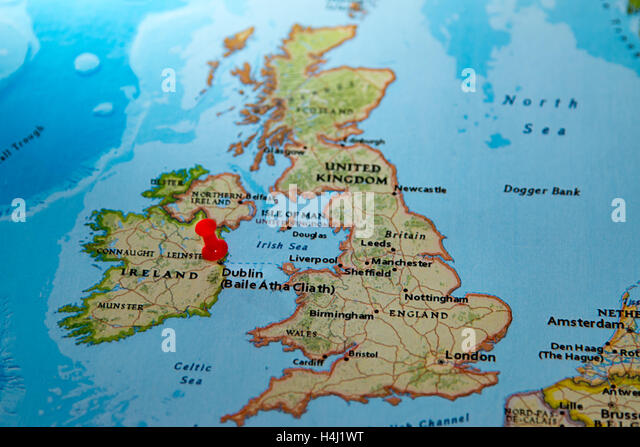 Ireland Political Map Stock Photos Ireland Political Map Stock - Ireland political map