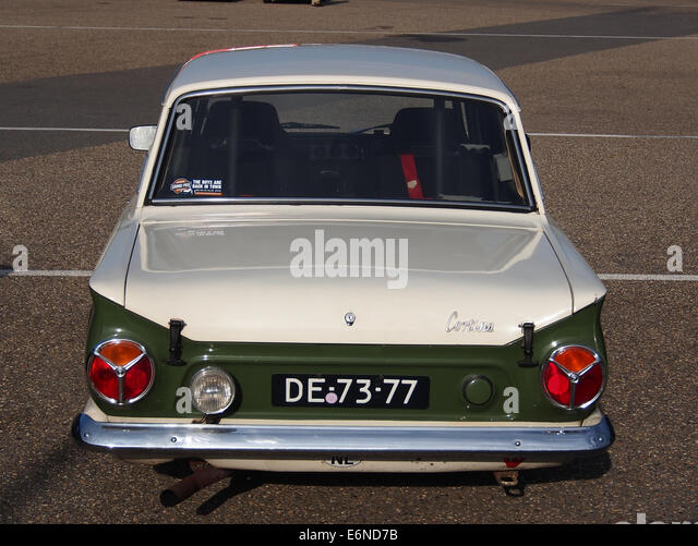 1965 ford lotus cortina pic5 stock image