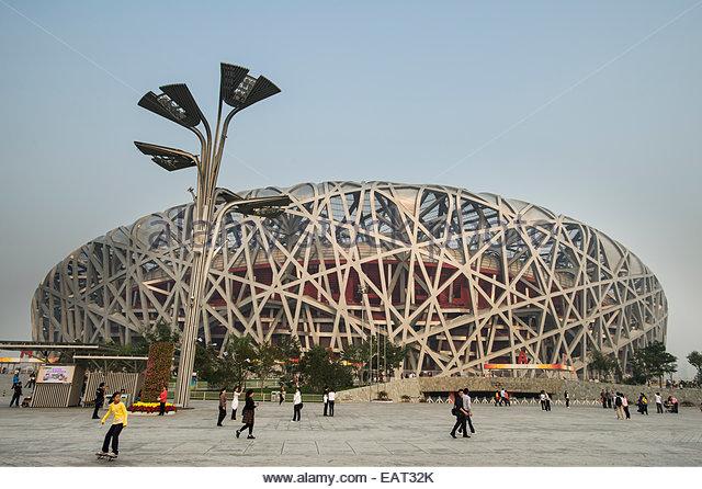 National stadium beijing stock photos national stadium for The nest beijing