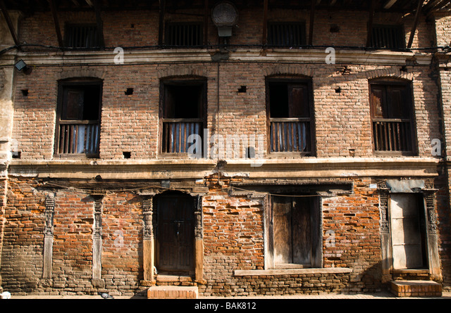 Newari window stock photos newari window stock images for Window design in nepal