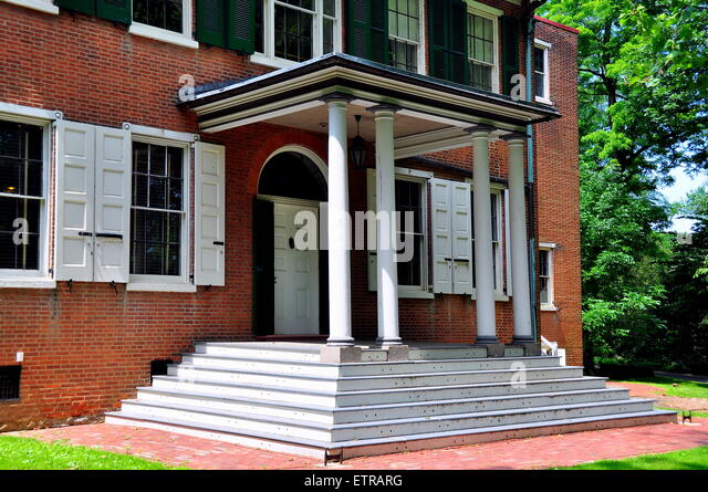 Entrance With Portico Columns : Entrance portico stock photos