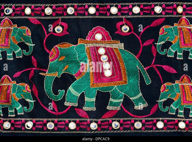Indian Elephant Fabric Gallery