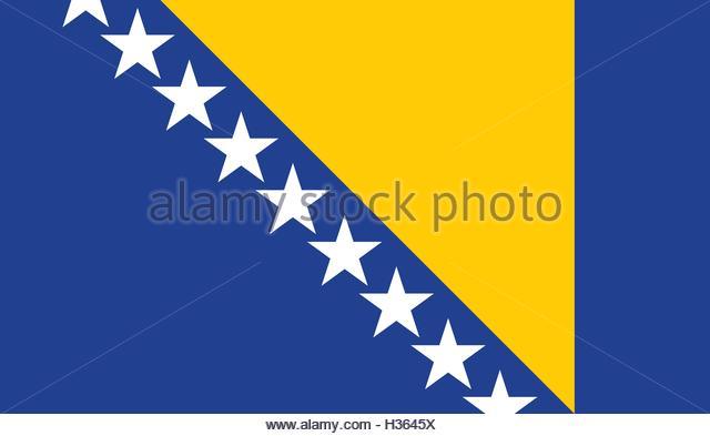 Bosnian Flag Stock Photos & Bosnian Flag Stock Images - Alamy