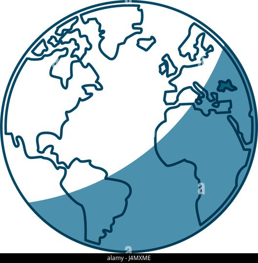 Flat earth map stock photos flat earth map stock images alamy world map earth atlas cartography graphic stock image gumiabroncs Images