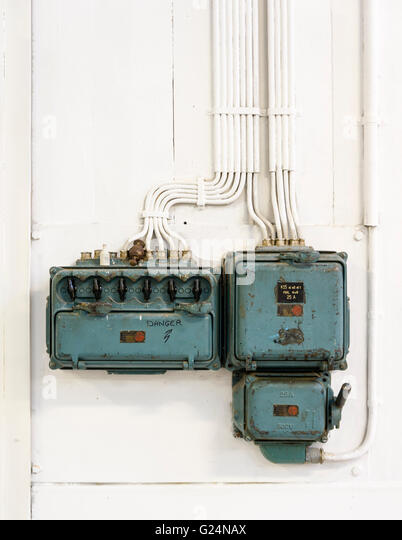 Wall Mount Circuit Breaker : Circuit breaker stock photos