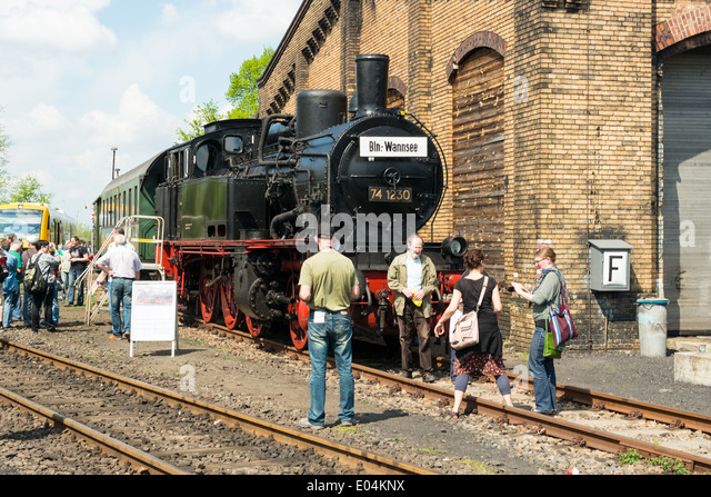 Steam locomotives germany stock photos steam locomotives for Depot bergedorf