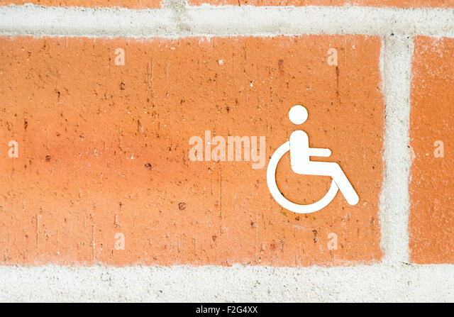 Disabled Toilet Door Stock Photos Disabled Toilet Door