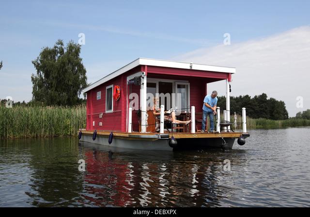 European waterways cruise company stock photos european for Bungalow brandenburg