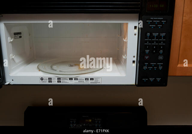 how to clean inside of microwave
