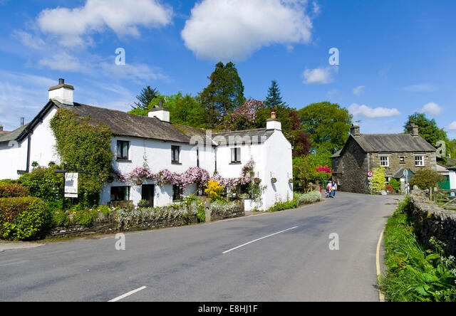 BUCKLE YEAT GUESTHOUSE, IN THE BEATRIX POTTER VILLAGE OF NEAR ...