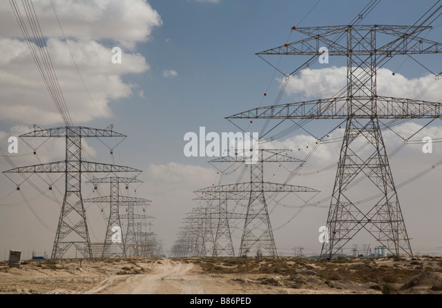 High Tension Electricity Wires Stock Photos & High Tension ...