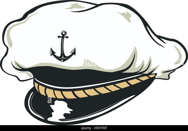 Navy Captains Stock Photos & Navy Captains Stock Images ... Captain Hat Vector