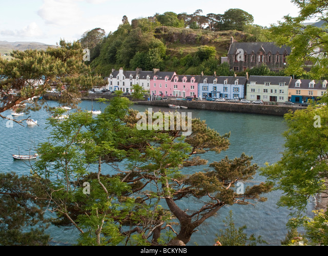Portree Stock Photos Portree Stock Images Alamy