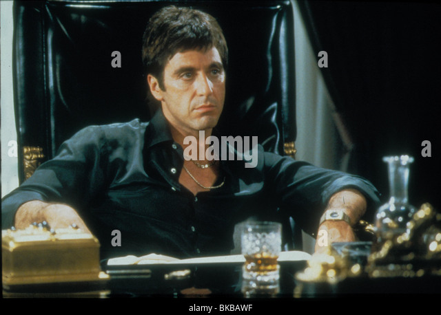 Scarface movie stock photos scarface movie stock images for Occhiali al pacino scarface
