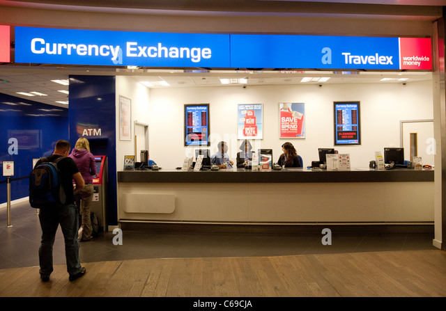 Travelex Exchange In East Midlands Airport Departures
