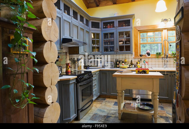 Country Style Kitchen Stock Photos Country Style Kitchen Stock