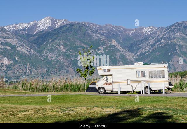 caravan park camping stock photos caravan park camping