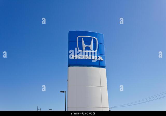 Honda Logo Stock Photos Amp Honda Logo Stock Images Alamy
