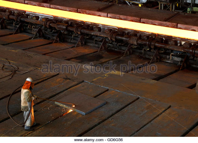 how to cut steel plate with a torch