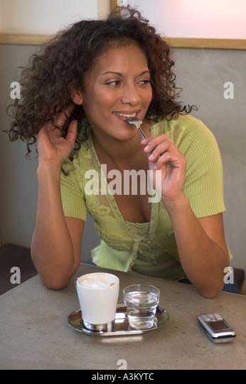Flirtatious Smile Stock Photo 3