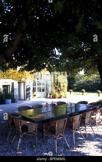 Garden Furniture France france provence garden furniture stock photos & france provence