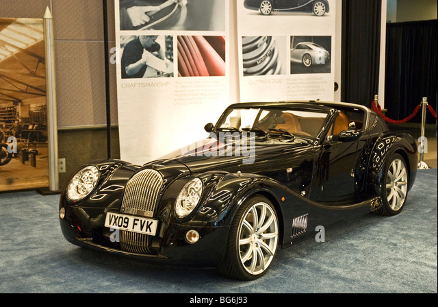 a morgan aero supersports na debut at the 2009 la auto show in the