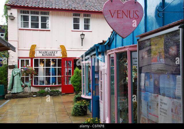 Trade Stands Glastonbury : Trade fair empty stock photos