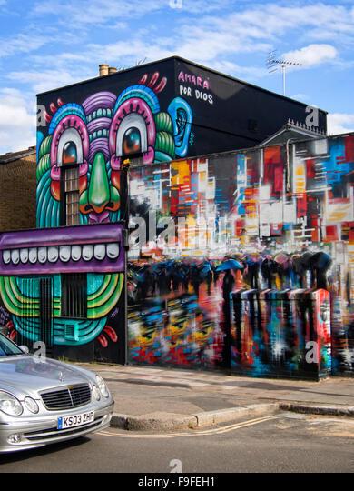 Camden Town: Camden Town Street Art Stock Photos & Camden Town Street