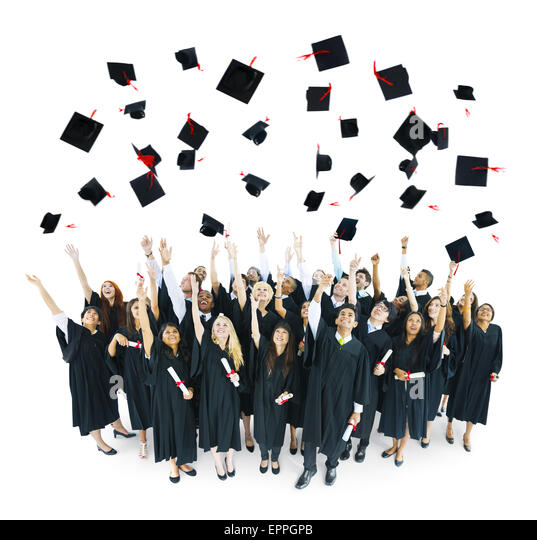 Throwing Graduation Red Caps In The Air | www.pixshark.com ...