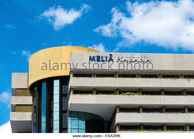 Melia Habana Exterior Facade Architectural Detail Located In Havanas Quiet And Quaint Miramar District The